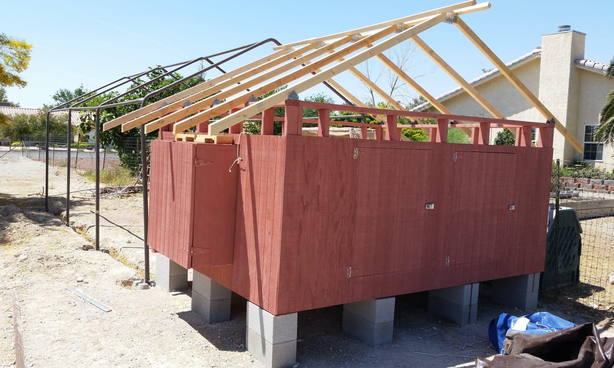 chicken-coop-build